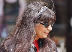 Tresses (dlanor smada) Tags: hair candids aylesbury bucks sunglasses shades