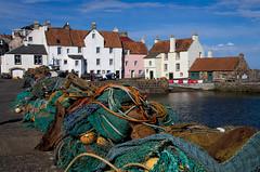 Pittenweem (Chalto!) Tags: eastnuek fife pittenweem soctland harbour port fishing net quay quayside shore coast