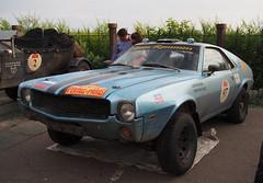 1968 - AMC AMX (Jasonito) Tags: paris classic car russia rally olympus retro oldtimer motor  omsk challenge peking 6th omd the 2016    em5   parispeking beijingparis   panasonic14140mmf4058 omdem5