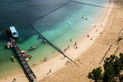 Tiger Beach @ Hotel Monterey (Steve Wan^_______________,^) Tags: travel love beach japan hotel monterey tiger daughter journey join wife fujifilm okinawa  x100t