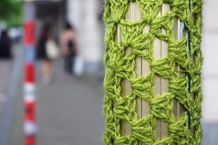 Point Culture - Tricotez Vous - Yarn Bombing (fabonthemoon) Tags: streetart wool tricot crochet knit pcb vernissage laine kitting yarnbombing pointculture 160625 pointculturebruxellescentre tricotezvous