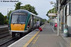 22007 at Portlaoise, 27/6/16 (hurricanemk1c) Tags: irish train rail railway trains railways irishrail rok rotem portlaoise 2016 icr iarnrd 22000 22007 ireann iarnrdireann 3pce 1930portlaoiseheuston
