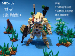 MBS-02V1Hummingbird(Command type) (CAT WORKER) Tags: lego military mech moc