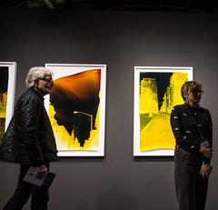 At the AIPAD Show - 1 (UrbanphotoZ) Tags: nyc newyorkcity woman ny newyork man colorful manhattan negative photographs eastside aipad parkavenuearmory associationofinternationalphotographyartdealers