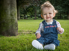Ruby (Wayne Cappleman (Haywain Photography)) Tags: park portrait baby playing photography george king wayne hampshire fields farnborough fifth haywain cappleman