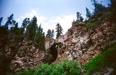 (warmsummernight) Tags: hiking naturalbridge yellowstonenationalpark yellowstone wyoming geology