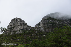 Table Mountain in the clouds