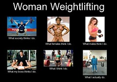 What I think I do..Woman weightlifting. (moramo111) Tags: foods high healthy protein