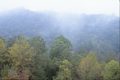 Cherohala Skyway Views (LNEB) Tags: nikon october dragon chrome fujifilm p 28 pancake slides fujichrome f5 45mm 2012