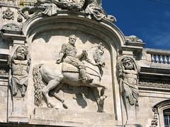 Equestrian (K.G.Hawes) Tags: horse france statue architecture de french hotel place lyon hoteldeville creative statues commons des cc riding creativecommons equestrian ville lyons hôtel placedesterreaux lyonnaise terreaux lyonnais