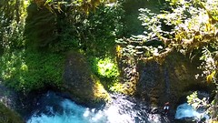 Waterfall Express (Zach Dischner) Tags: cliff fall nature water oregon swim river waterfall cool jump ride or slide hood gopro
