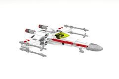 T-65 X-wing Starfighter (LegoNoitAllMocs) Tags: starwars model lego xwing moc t65 starfighter incom