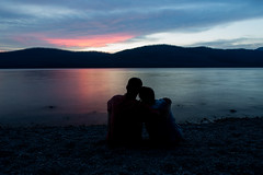 Sunset over Lake McDonald (John Sieber) Tags: sunset photography montana nps glaciernationalpark gnp lakemcdonald montanamoment