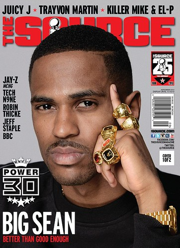 Big Sean on the Cover of The Source Magazine Annual Power 30 Issue