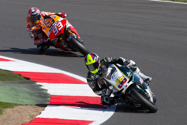 Yonny Hernandez in front of Marc Marquez - for how long?