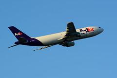 CYVR - FedEx Airbus A300F4-605R N677FE (CKwok Photography) Tags: yvr fedex a300 cyvr n677fe