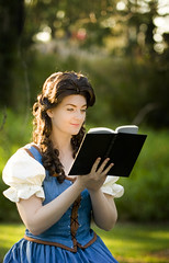 The magic of books (NinaStallmann) Tags: love true reading princess time disneyland books disney belle once nina walt upon ouat stallmann rumbelle