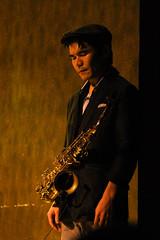 Jazz Man (Wiley C) Tags: california oakland jazz saxaphonist yoshisrestaurant september2013 assignment52392013