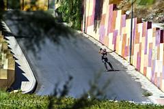 Imanol Ormazabal - Stand up (Rubén Otero) Tags: canon long skateboarding skate dh longboard 7d trick freeride standup 200mm longboarding longboarder pipermina piperminaskateboard