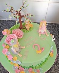 Fairy Garden Cake 1