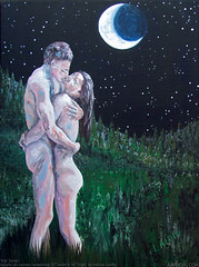 Star Songs (Artistic Flow) Tags: love nature couple erotic romance primal starlight sensualart romanticart vision:outdoor=0922 vision:plant=08 starsongs sensualpainting e