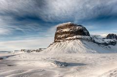 Winter (Kristinn R.) Tags: winter sky snow mountains clouds iceland nikon d3x lómagnúpur nikonphotography kristinnr