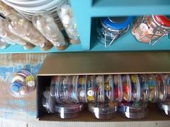 Bazar de Natal (super_ziper) Tags: cores kit presente costura seleção botões alfinetes 2013 superziper armarinho ógente