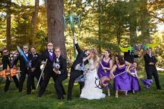 wedding party (J.SoulCrow) Tags: wedding groom bride diy craft worldofwarcraft weapon