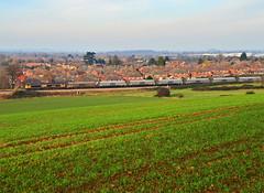 4V94 at Churchdown. (curly42) Tags: railway freight biomass class66 churchdown gbrf 66740 4v94