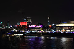 Project 365 #345 - London Southbank Evening Cityscape (8DCPhotography (www.8dcphotography.co.uk)) Tags: christmas london night cityscape southbank shard canonef24105mmf4lusm andycarr canoneos70d project3652013 www8dcphotographycouk
