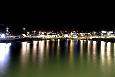 The Centre (Joey Scannell) Tags: ocean sea seascape colour reflection water landscape joseph boats harbor pier boat mine harbour horizon line reflect shimmer linear scannell