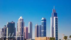 Dubai Skyscrapers (kameraderie) Tags: bridge 2 building water fountain skyline architecture buildings mall boat waterfall al downtown dubai december day gulf skyscrapers expo united towers uae sunny emirates national khalifa arab abra souk gondola arabian emirate address jumeirah burj dxb skycraper bahar 2020 bahr