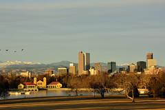 Denver - Early Morning (Rocky Mountain Guy) Tags: usa skyline denver co