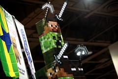 Minecraft (Gage Skidmore) Tags: arizona phoenix amazing comic center convention con minecraft