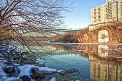 Harlem_River (K_Forde) Tags: nyc newyorkcity bridge winter ice river bronx columbia rowing pallisades harlemriver icywater