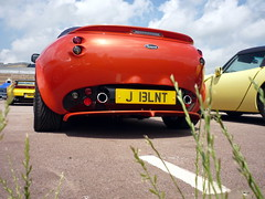 Tamora (BenGPhotos) Tags: england orange heritage sports car centre sunday fast convertible exotic british motor rare 2009 supercar tvr hms tamora gaydon straight6 j13lnt
