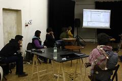 """Workshop: Sound / Sound design / Sound handling • <a style=""""font-size:0.8em;"""" href=""""http://www.flickr.com/photos/83986917@N04/12876531004/"""" target=""""_blank"""">View on Flickr</a>"""