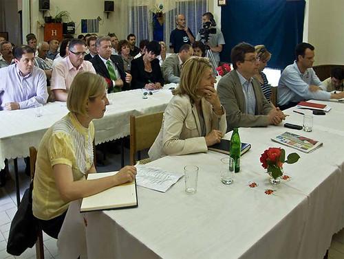Usvajanje Master plana na sednici u Novom Miloševu.