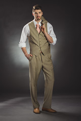 IMG_8985 (ODPictures Art Studio LTD - Hungary) Tags: boy portrait guy adam canon eos grey eva dress background budapest clothes suit es elegant tamron magyar 70200 hungarian 6d szalon portr adameva