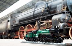 LEGO 10194 vs locomotiva Breda Gr. 746-031