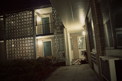 (yyellowbird) Tags: selfportrait girl night illinois motel lolita cari rockford