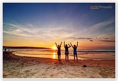 Jimbaran Beach Sunset (Vin PSK) Tags: sunset bali seascape beach landscape jimbaran