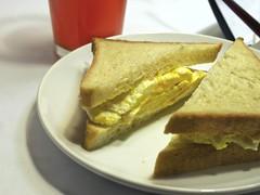 Ruhlman's egg sandwich on homemade pullman loaf bread. (andy pucko) Tags: bread pepper egg salt sandwich butter ruhlman pullmanloaf
