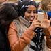 Somalian girl at the HAFF 2014