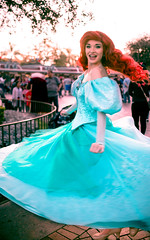 Up where they dance   Into the Magic (chris.alcoran) Tags: world lighting sea color ariel colors girl canon project photography eos kiss princess little disneyland magic under disney part your coloring 40mm mermaid fantasyland 6d intothemagic