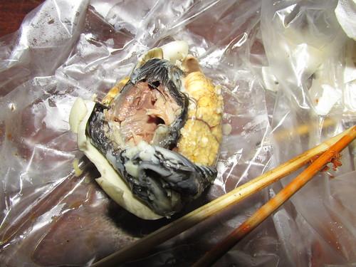 Foetus de poussin, Cambodge