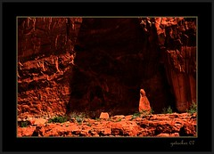 High Lite (the Gallopping Geezer '4.5' million + views....) Tags: park nature canon landscape utah nationalpark scenery view scenic arches roadtrip moab roadside redrock geezer rockformations 2007 corel west07924