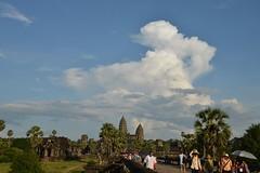 小吳哥窟 Angkor Wat (mawingchung,,,) Tags: park sky macro tree tower nikon 公園 柬埔寨 微距 廟宇 暹粒 d800e