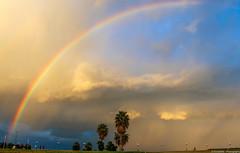 Io vivo di questo (pois noir) Tags: light color colors beauty canon landscape rainbow palermo luce