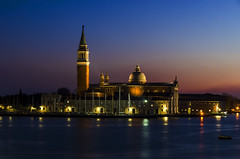 San Giorgio Maggiore (Fil.ippo) Tags: sangiorgiomaggiore island venice venezia benedictine benedettini sunset tramonto d7000 filippo filippobianchi church chiesa palladio